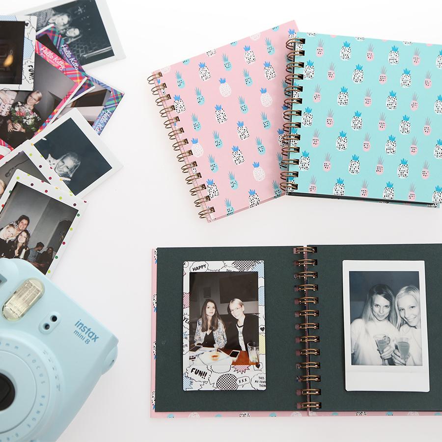 Mini fotoalbum - polaroid foto